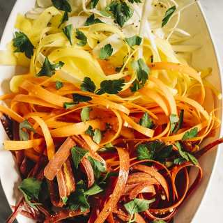 Bad H'ombre Carrot and Parsnip Salad