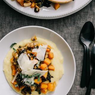 Butternut Squash & White Bean Ragout