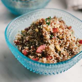 Quinoa Pilaf with Cherries and Pine Nuts