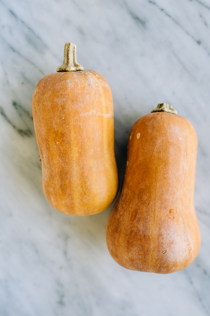 Honeynut butternut squash is a butternut hybrid with an intensified flavor. It's super sweet and nutty, and the perfect addition to a hearty grain salad, such as this butternut squash rice pilaf.