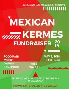 Mexican Kermes 2018 @ Our Savior's Lutheran Church | San Diego | California | United States