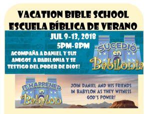 Vacation Bible School | Escuela Biblica de Verano @ Our Savior's Lutheran Church | San Diego | California | United States