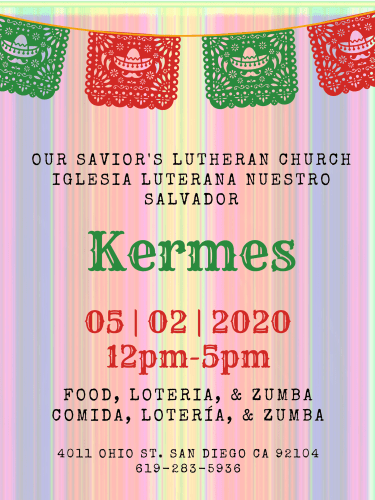 Kermes 2020 @ Our Savior's Lutheran Church | San Diego | California | United States
