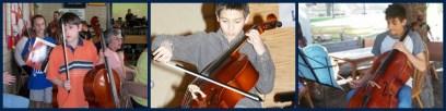 Michael cello collage