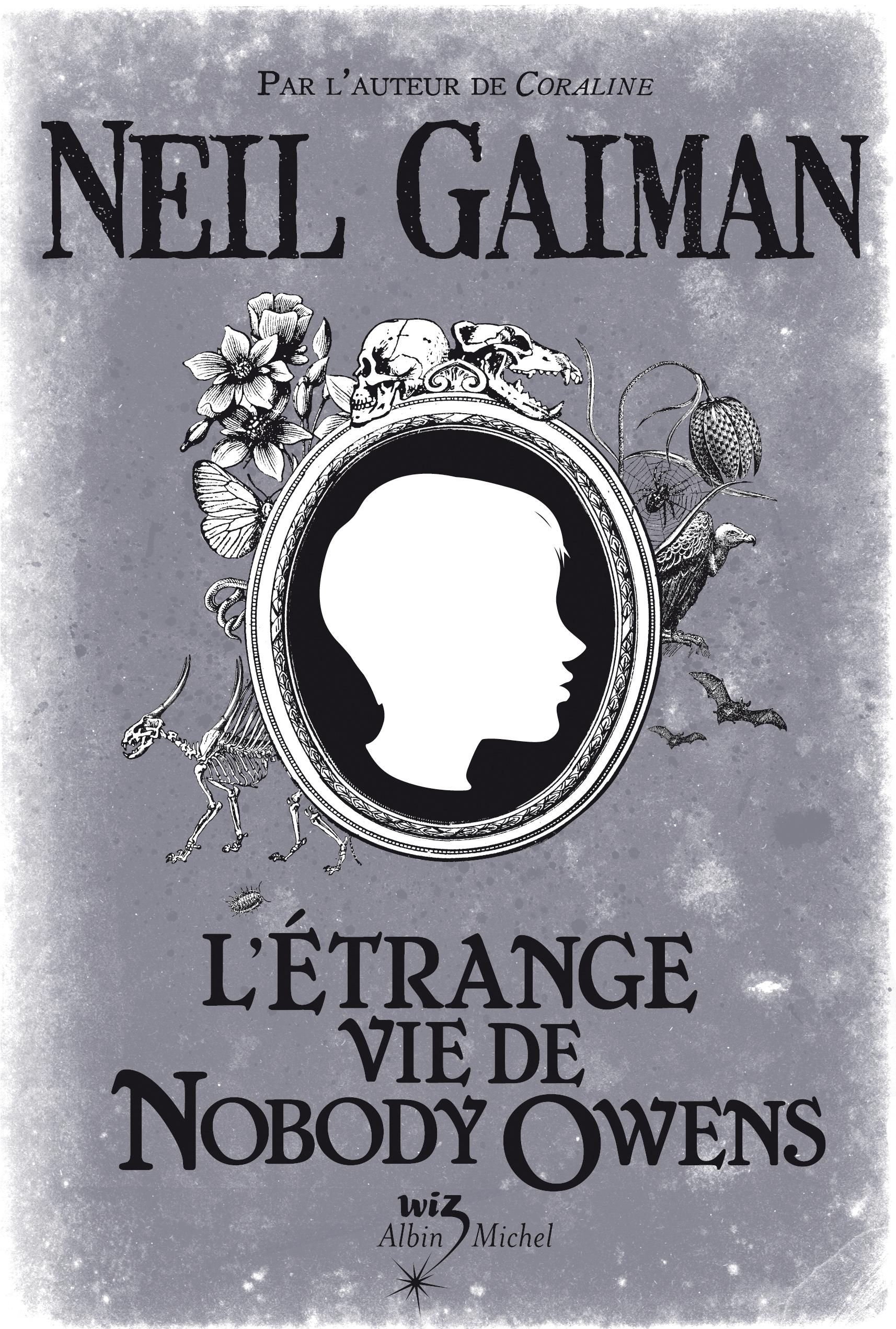 L'étrange Vie De Nobody Owens : l'étrange, nobody, owens, L'étrange, Nobody, Owens,, Gaiman,, Illustré, McKean, (2008), L'ourse, Bibliophile