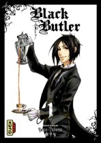 Black Butler 1 (couverture)