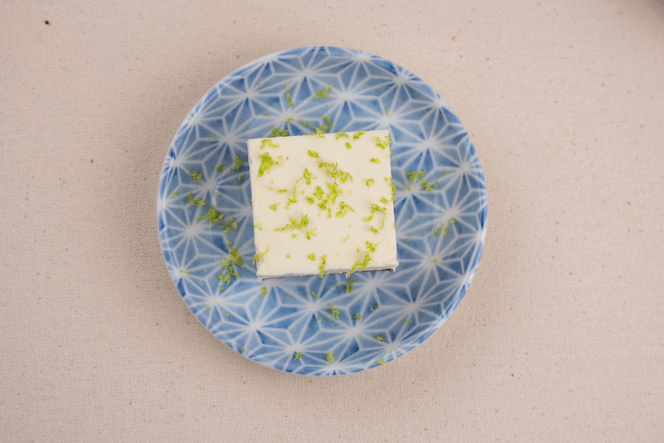 禾火甜點|檸檬白磚,酸甜生乳酪蛋糕,夏日最輕盈享受美味甜點