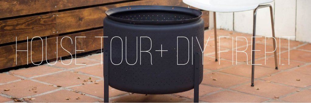 A House Tour, Courtesy of Airbnb (+ DIY Firepit)