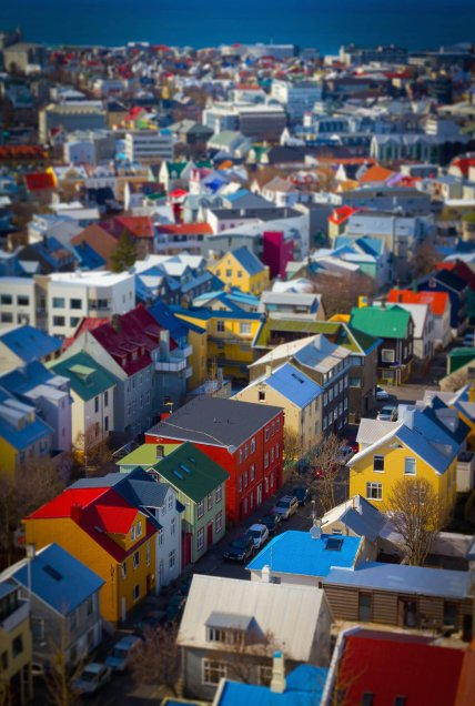 Iceland Our Simple Adventure tilt shift-1