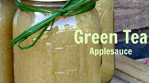 How to Make Green Tea Applesauce and Apple Cider Butter