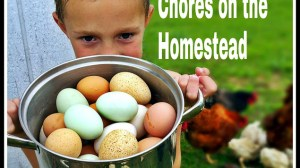 Age Appropriate Chores on the Homestead