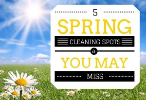 spring cleaning list
