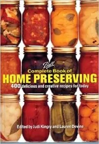 home canning book