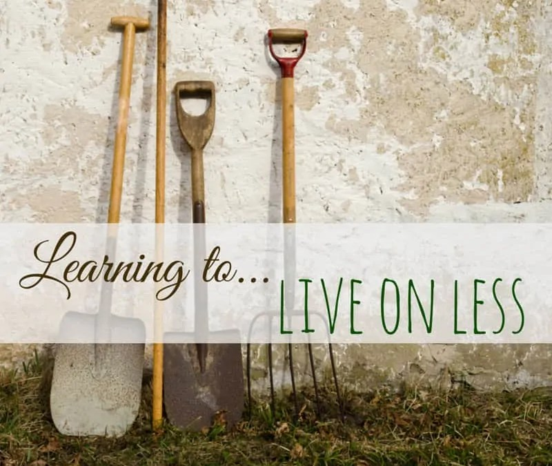 Learning to Live on Less