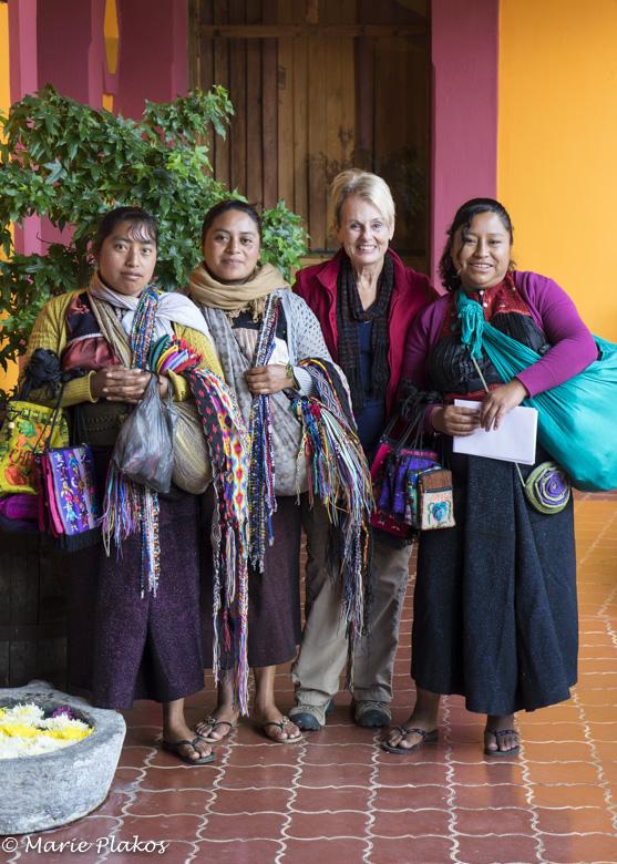 Interviews with Maya street vendors
