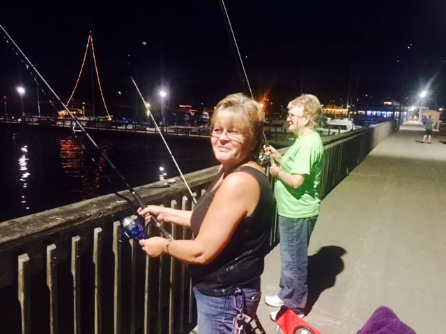 Fishing is time together