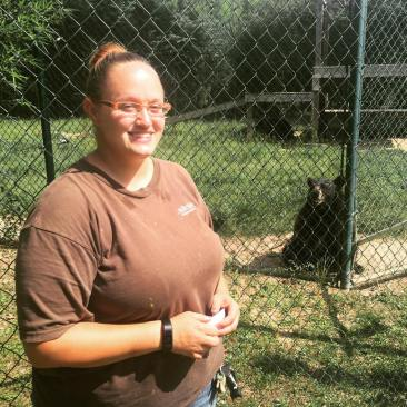 Working with animals at the zoo is hard work but rewarding. They know when someone cares