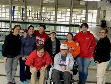 We are training for the special olympics