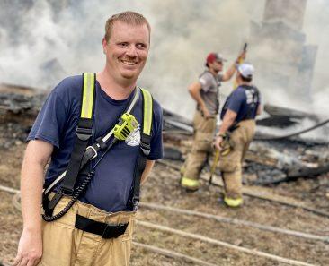 I am a third-generation firefighter