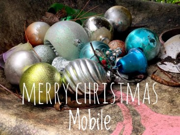 Merry Christmas Mobile