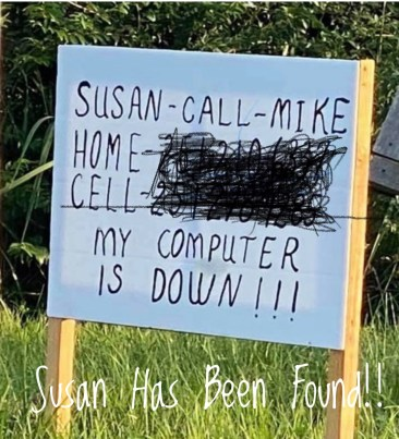 Susan has been found!