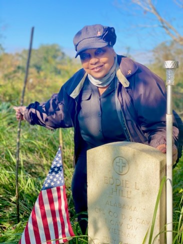 I felt like no one cared about veterans buried  a Black cemetery and they got lost