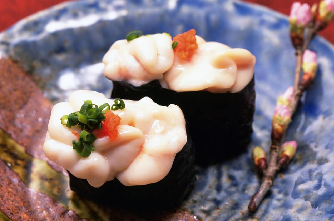 Shirako Sperma Ikan Makanan Khas Jepang