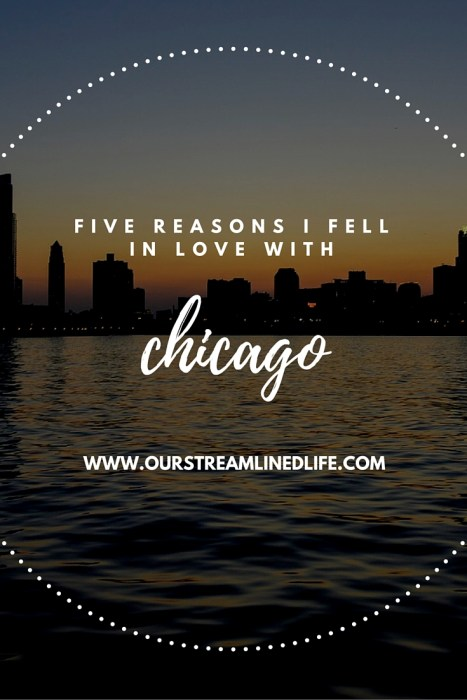Five Reasons I Fell in Love with Chicago | Our Streamlined Life