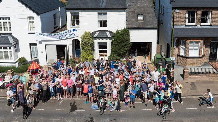 Cowper Road Street Party