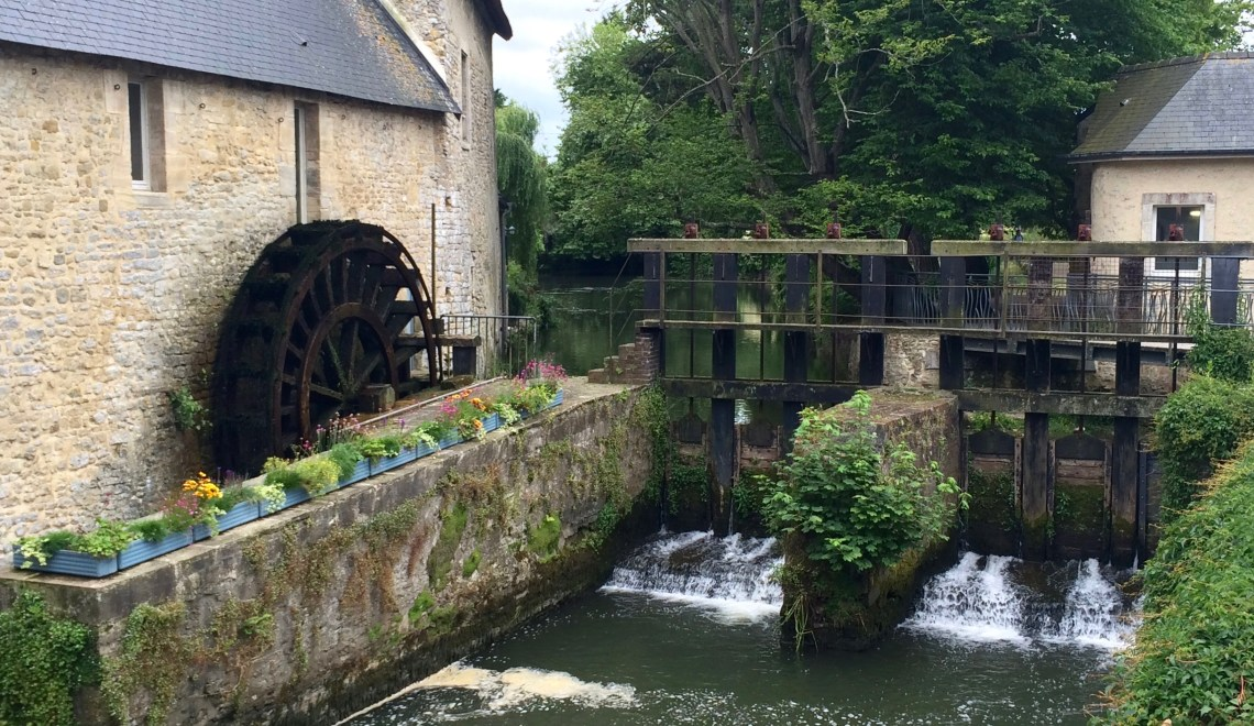 Crepes and Watermills in Bayeux