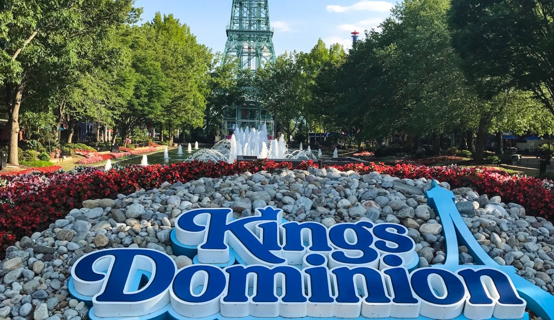 Twelve of the Best Rides at Kings Dominion