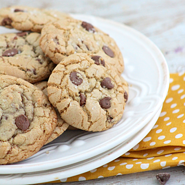 Chocolate Chip Cookies with Bacon and Sea Salt