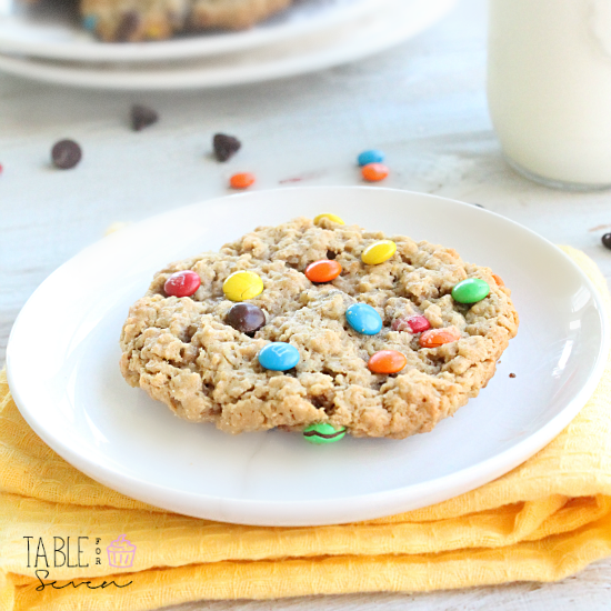 Monster Cookies: Table for Seven