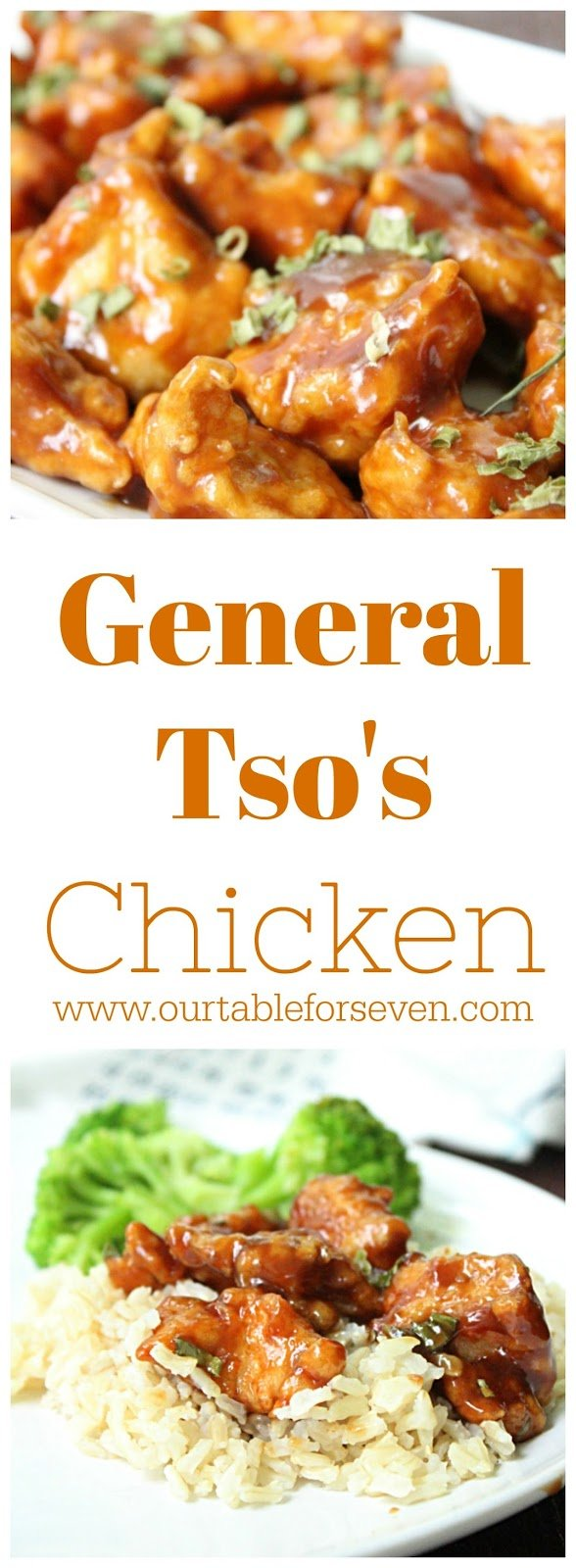 General Tso's Chicken from Table for Seven