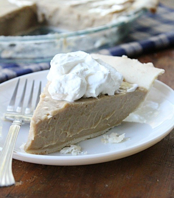 Maple Cream Pie from Table for Seven