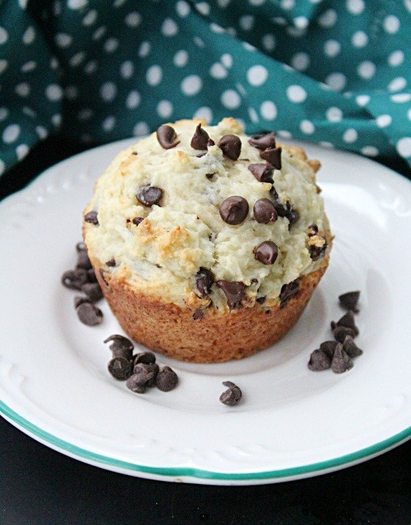Chocolate Chip Muffins with Ricotta Cheese from Table for Seven