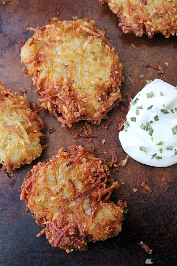 Potato Pancakes from Table for Seven