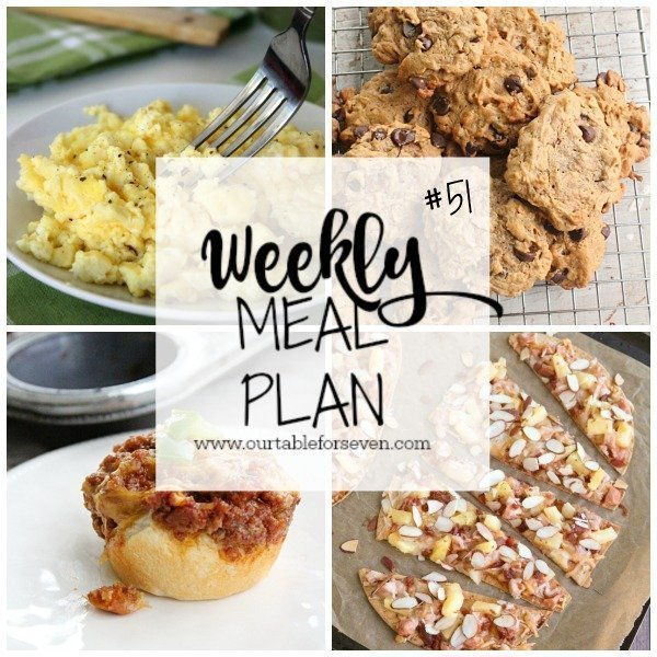 Weekly Meal Plan #51 from Table for Seven