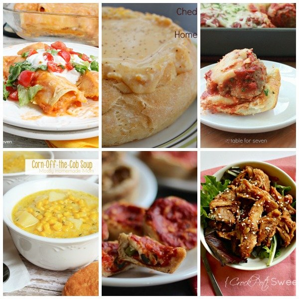 Monthly Meal Plan: February from Table for Seven