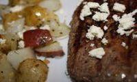 Greek Recipes: Bifteki, Greek Potatoes, and a Greek Salad