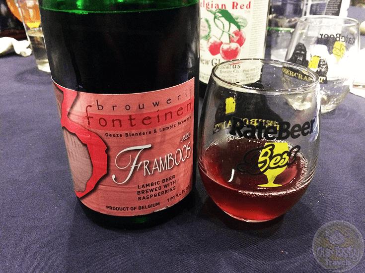 Framboos (2014) by Brouwerij 3 Fonteinen
