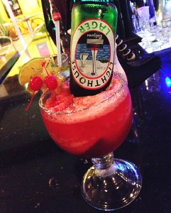 Photo of the Week: Strawberry Beerita in Belize