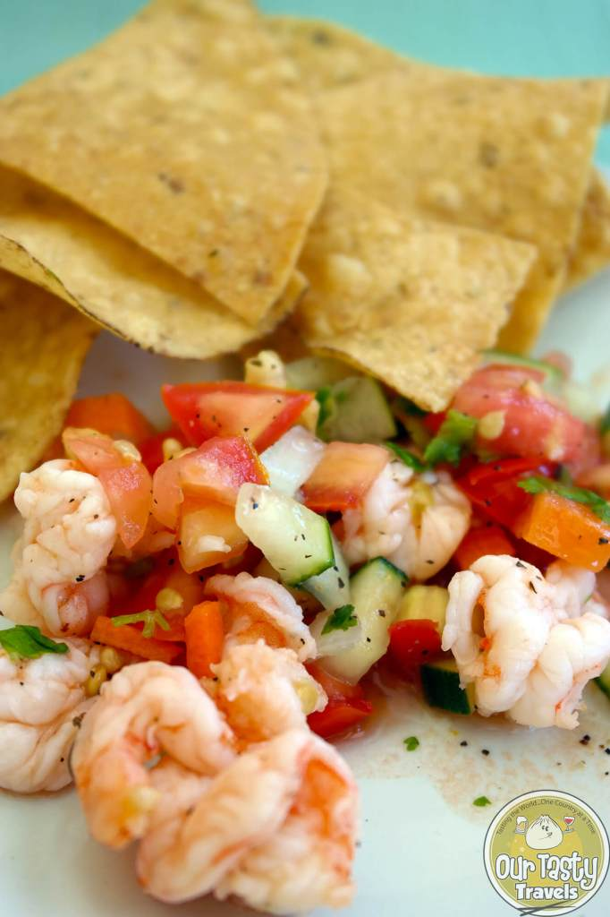 Ceviche in Belize - ourtastytravels.com