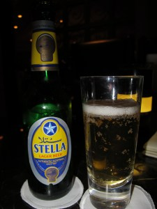 Stella Lager Bottle