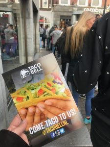 Grand Opening of the First Taco Bell in Eindhoven, The Netherlands