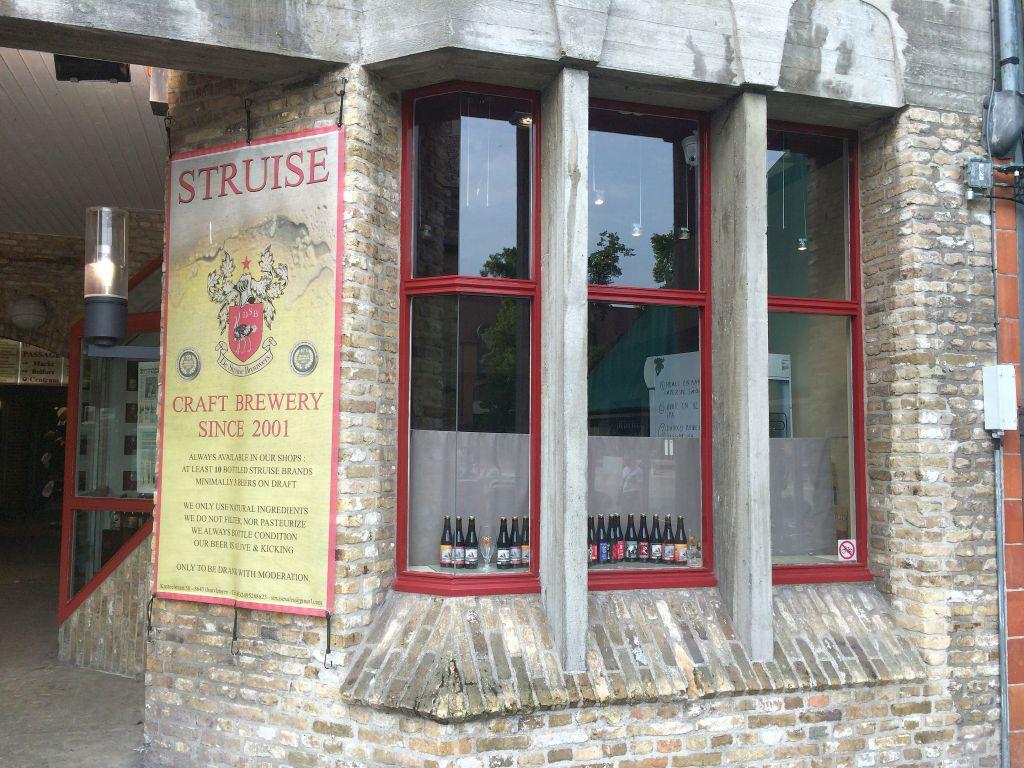 Struise Brewers shop in Brugge, Belgium