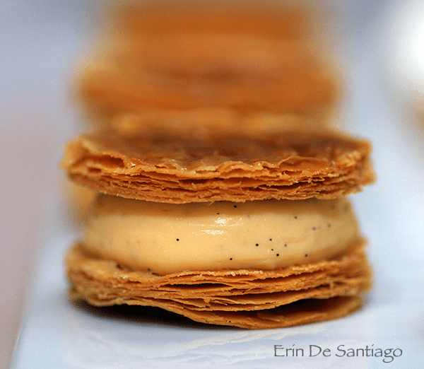 Mini Vanilla Mille-Feuille from Sweet Tea by Yannick Alleno http://ourtastytravels.com/blog/sweet-tea-yannick-alleno-taipei-101/ #ourtastytravels #taipei
