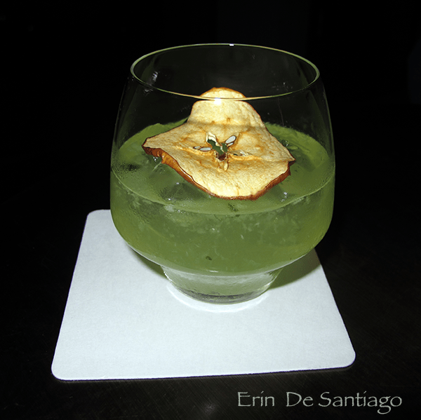 Truffle Pie served in a lowball glass http://ourtastytravels.com/blog/truffle-infused-cocktails-w-hotel-taipei-taiwan/ #ourtastytravels #taipei