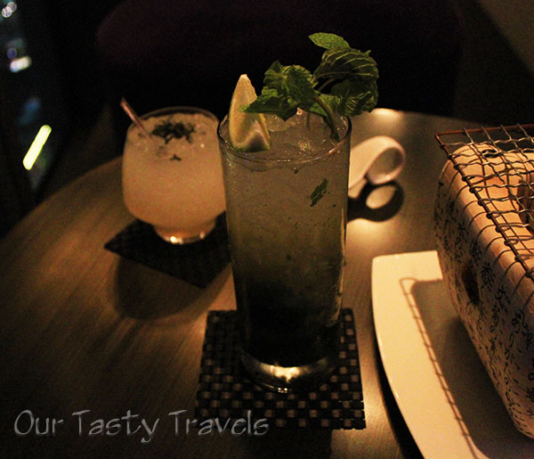 Yen Bar W Hotel Taipei Green Tea Mojit and Oolong Fizz