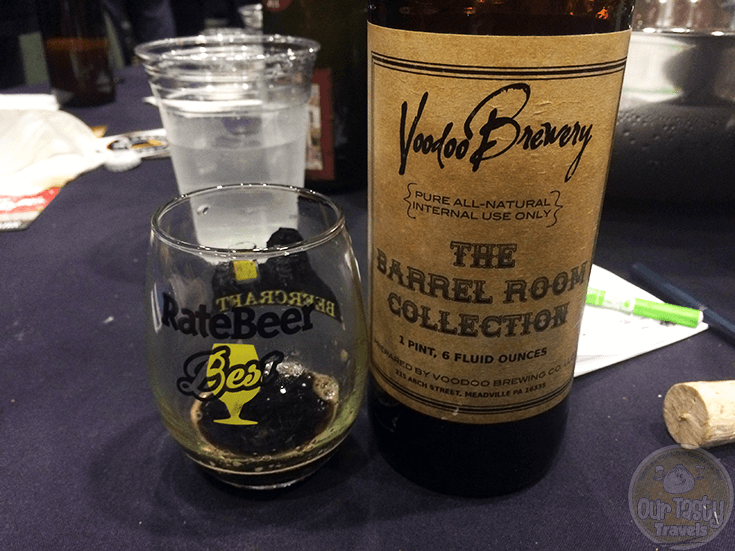 Laird's Apple Brandy Big Black Voodoo Daddy by Voodoo Brewing Company